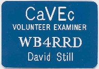 CaVEc Badge