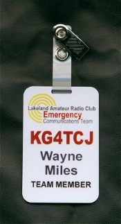 Lakeland ARC Badge