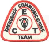Emergency Communications Team Patch